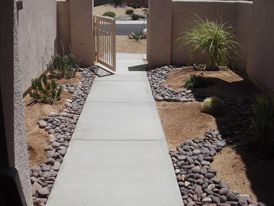 decks, patios, walkways